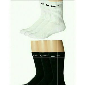 Women's Nike Crew Socks 6 Pairs, 8_12 Shoe Size